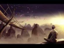 Практика медитации при столкновении с болью, болезнью и смертью