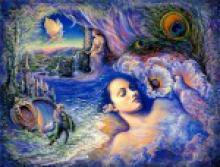 О некоторых закономерностях трансформации образов в осознаваемых сновидениях