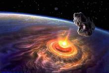 Динозавров убил гигантский метеорит